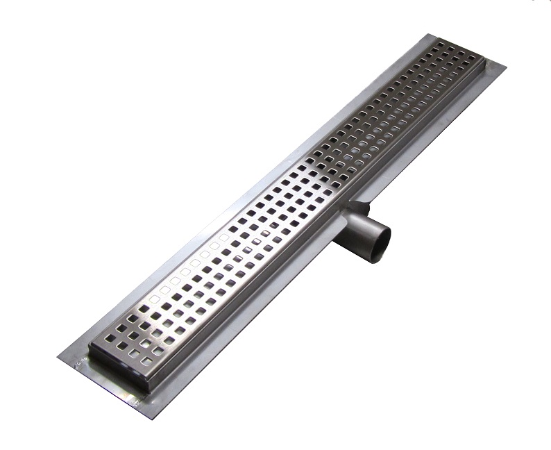 Gutter GRIGLIA SS Perforated 80 cm