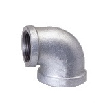 Malleable Iron Reducing Elbow 3/4Fx1/2F Nickel