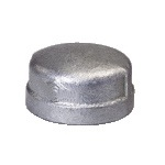 Malleable Iron Cap 1/2F Nickel