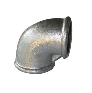 Malleable Iron Elbow 90° 1/2Fx1/2F Nickel