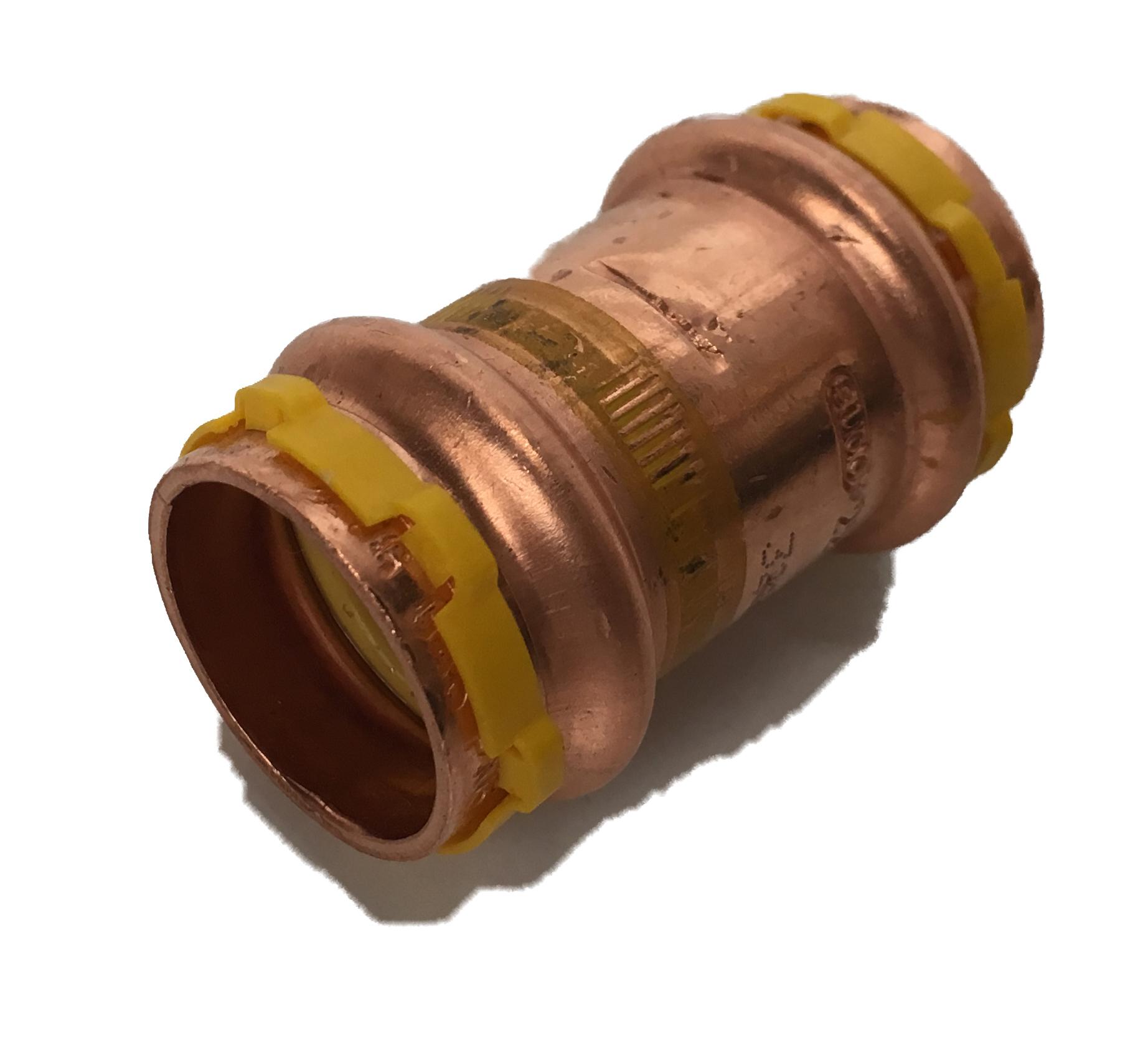 Copper Sudopress Press FF Straight for GAS 15x15 V-profile