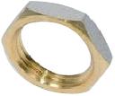 Nut in Brass 4/4F - Brass