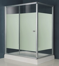 Cabine Douche coulissante 120x90x210 6mm