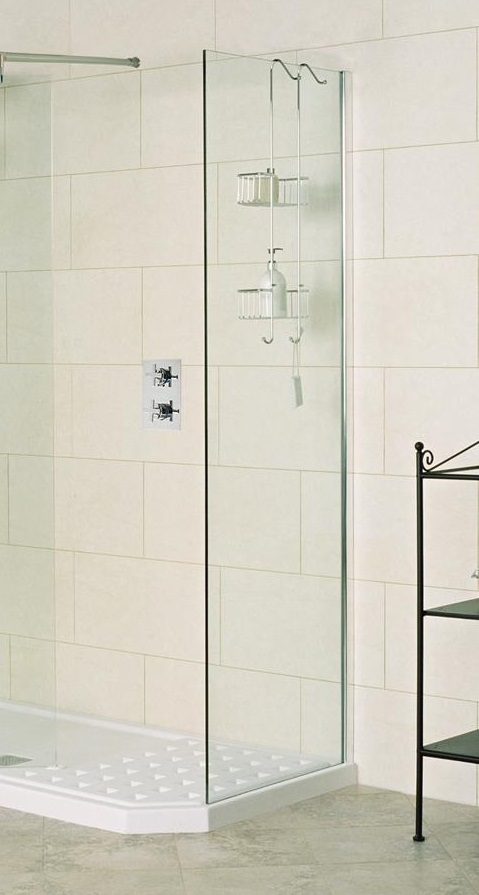 Showerwall 28x200 Glas 8 MM Fixed