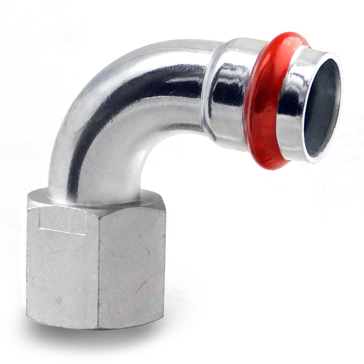 Press Steel Bend 90° 1/2Fx28