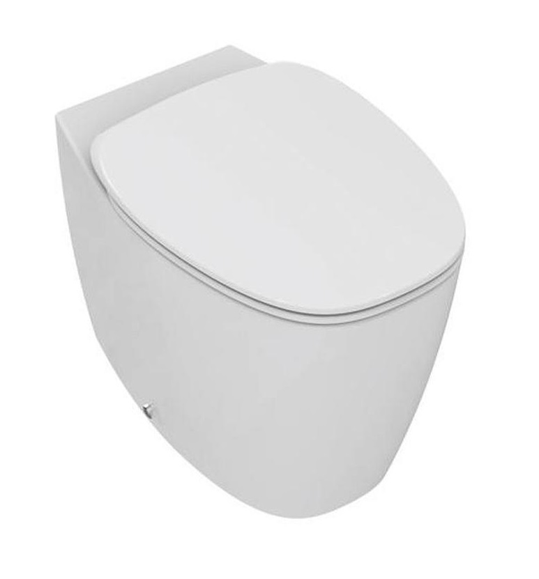 Hang-WC Ideal Standard opzet op wand