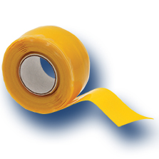 Yellow protection tape for PLT