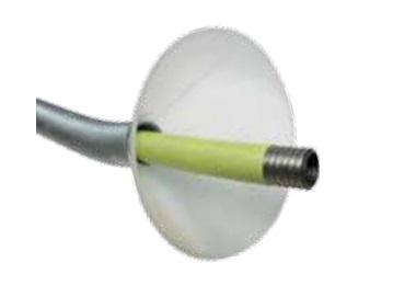 Funnel for PLT hose