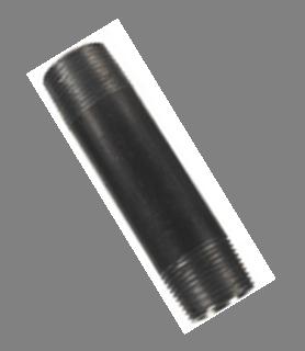 Extension Black iron pipe 1/2M x 1/2M x 4cm
