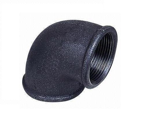 Malleable Iron Elbow 90° 6/4Fx6/4F Black