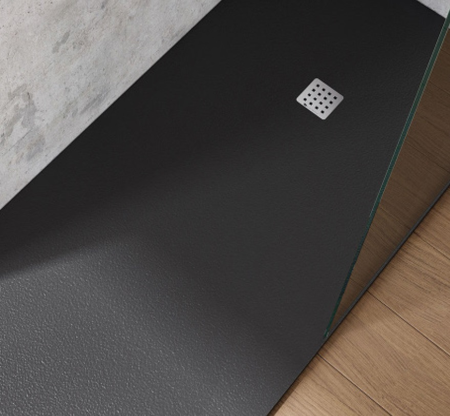 COMPOSITE Shower Tray 90x180x2.6 cm ANTHRACITE