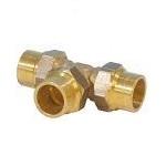 Gas compression Tee 22x15x22