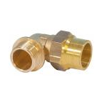 Gas compression Elbow Male 1/2Mx18