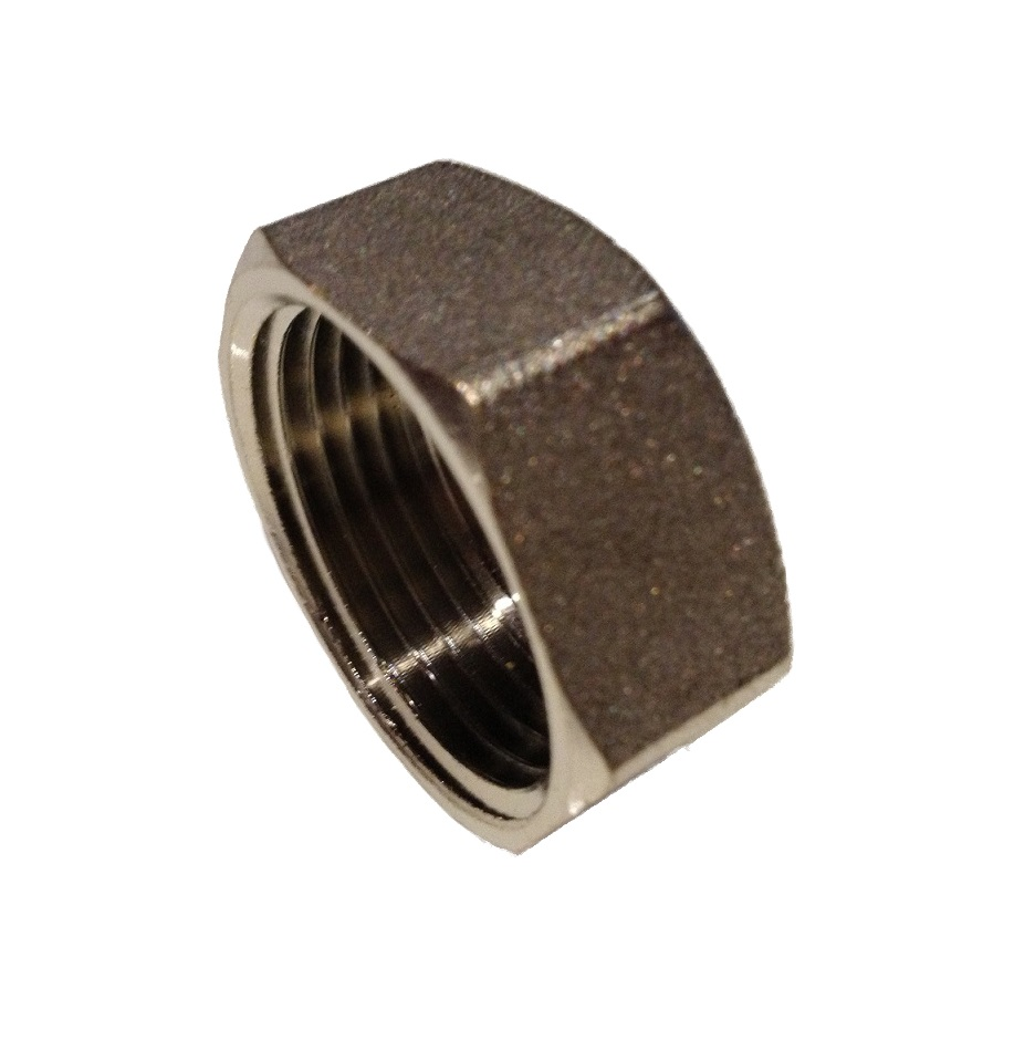 Brass Cap 4/4F Nickel