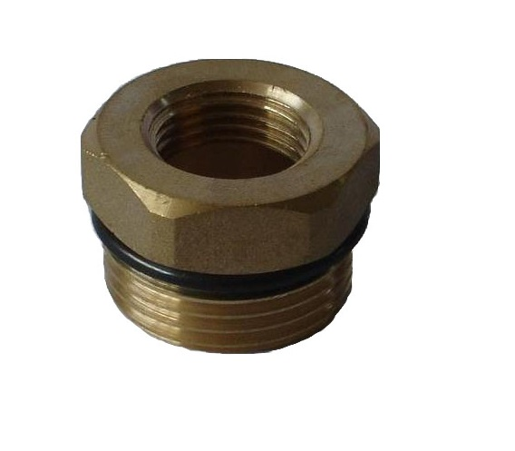 Brass Reduction 4/4M x 1/2F w/ oring