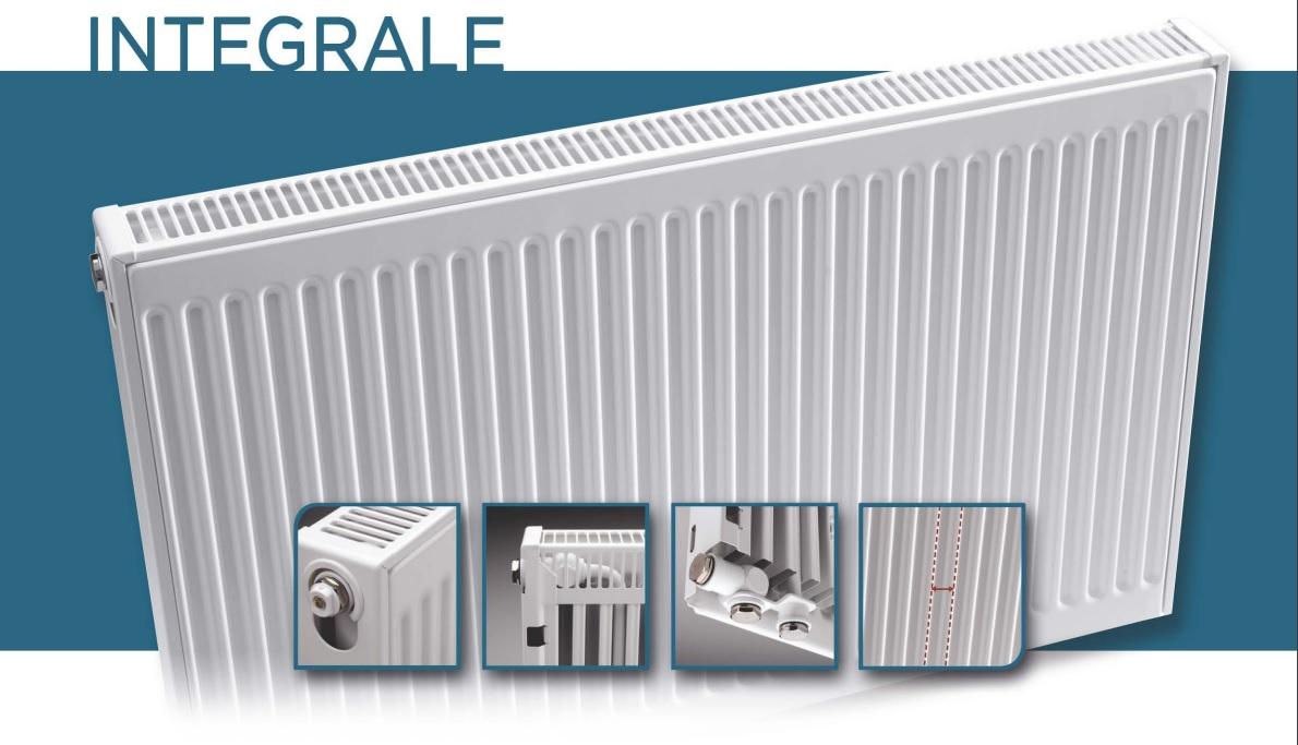 Radiateur QUINN Intégré Type 22 H300 L600 657W